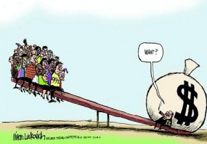 Income-Inequality cartoon